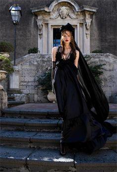 """Soft Black"": Edoardo Marchiori shoots model Alexina Graham for Italian Glamour magazine, back in 2011"