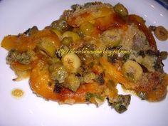 Ardei la cuptor, Rețetă Petitchef 20 Min, Ratatouille, Meat, Chicken, Cooking, Ethnic Recipes, Food, Cuisine, Kitchen