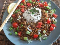 Lentils, Cobb Salad, Quinoa, Sweet Potato, Carrots, Potatoes, Cooking Recipes, Ethnic Recipes, Food