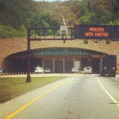 Cumberland Gap Tunnel...love driving through these!