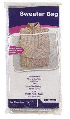 Homz Laundry/Seymour #1202513 Sweater Bag by HOMZ LAUNDRY/SEYMOUR. Save 51 Off!. $2.25. HOMZ LAUNDRY/SEYMOUR. Homz Laundry/Seymour #1202513 Sweater Bag. Large White Sweater Bag, Nylon Mesh.