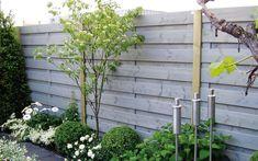 mooie schutting voor mijn nieuwe tuin.