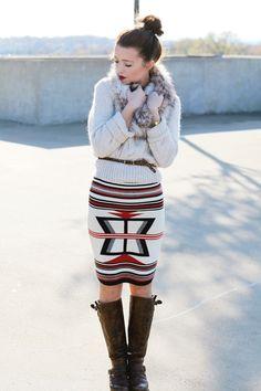 winter tribal prints