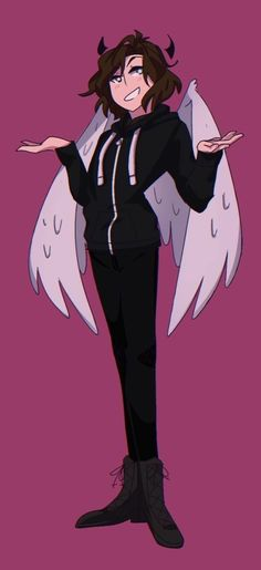 I'm just gonna assume this is Nico cause Di angelo means Angel so yeah <<< I think it's Connor Murphy from Dear Evan Hansen.< Idk what it is it's going to drawings Pretty Art, Cute Art, Querido Evan Hansen, Dear Even Hansen, Dear Evan Hansen Connor, Art Manga, Poses References, Image Manga, Cartoon Art Styles