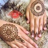 The most distinctive and exquisite designs in mehndi art