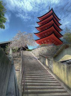 Stairway to Heaven   Miyajima, Japan
