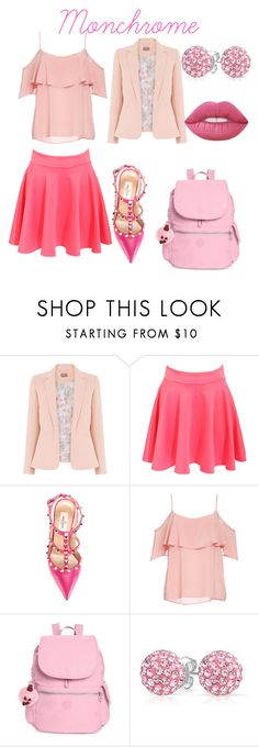 """""""Untitled #65"""" by irmaa612 ❤ liked on Polyvore featuring Pilot, Valentino, BB Dakota, Kipling, Bling Jewelry and Lime Crime"""