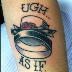 This Clueless tattoo will always be in style. | 32 Amazing Tattoos That Will Give You Flashbacks To The '90s