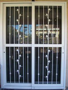 Security Storm Doors, Security Gates, Diy Home Security, Security Screen, Window Security, Security Service, Sliding Patio Screen Door, Sliding Glass Door, Sliding Doors