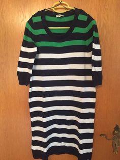 #TomTailor #Kleid #gestreift #Damen #Mode #Streifen #dreiviertel #kleiderkreisel : http://www.kleiderkreisel.de/damenmode/hakelkleider/143712251-gestreiftes-strickkleid-von-tom-tailor.