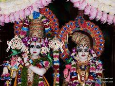 Sri Sri Radha Govinda Close up Wallpaper