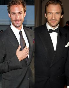 The Fiennes brothers: Joseph and Ralph.