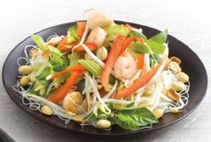 Vietnamese Rice Vermicelli Salad