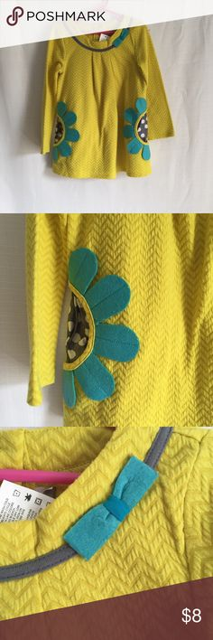 Emily Rose Yellow Tunic Good used condition with some pilling  Missing second piece Emily Rose Shirts & Tops