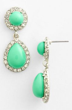 Lydell NYC Drop Earrings available at #Nordstrom