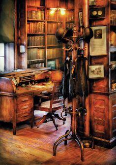 The Desk...Mike Savad