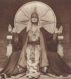 """Mia May, 1919 Die Herrin der Welt,"""" Mistress of the World"""