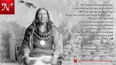 Guerrieri non sono quello che pensi di come guerrieri. Il guerriero non è chi combatte, perché nessuno ha il diritto di prendere un'altra vita. Il guerriero, per noi, è uno che si sacrifica per il bene degli altri. Il suo compito è quello di prendersi cura degli anziani, degli indifesi, coloro che non possono provvedere a se stessi, e, soprattutto, i bambini, il futuro dell'umanità. -sitting Bull (c 1831 -. 1890), Hunkpapa Sioux.