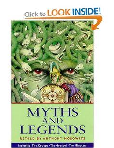 Myths and Legends: Amazon.co.uk: Anthony Horowitz: Books