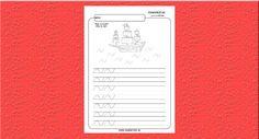 Grafomotorika. Kreslíme vlny na mori. - Aktivity pre deti, pracovné listy, online testy a iné