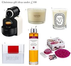 Gift ideas for Christmas from £25 to £60 that she'll love.