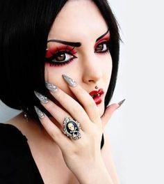 Каким должен быть правильный макияж на Хэллоуин :: Fashion Stylist