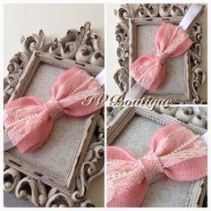 Handmade bow headband £4+ postage