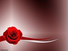 Red Rose On The Abstract Background Ppt Backgrounds Abstract Backgrounds Valentines Day Background Powerpoint Background Free
