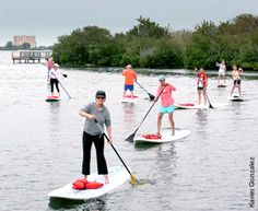 Stand Up Paddle Boarding: Therapists master this new sport, which helps with balance, strength and flexibility. http://physical-therapy.advanceweb.com/Features/Articles/Stand-Up-Paddle-Boarding.aspx