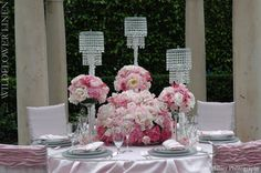 www.wildflowerlinens.com  Red and Pink Wedding inspirations