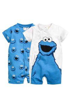 2-pack all-in-one pyjamas