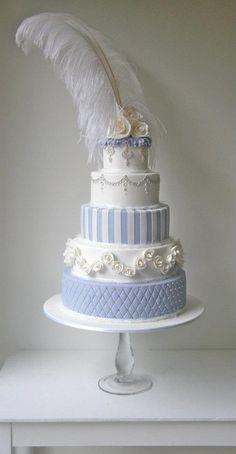 "Wedding Cake. Unique wedding cake. Made by ""The Cake That Ate Paris""."