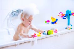 Make bath time more fun (or simply happen) by getting bath paints. | 11 Ways To Trick Your Kids Into Doing Things That Are Good For Them