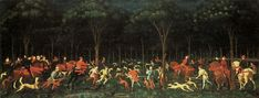 The Hunt in the Forest, c.1460 - Paolo Uccello