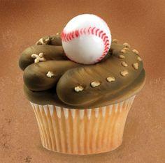 Baseball and Mitt Cupcake                                                                                                                                                                                 More