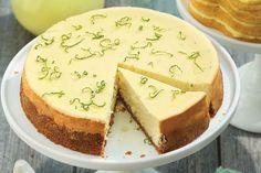 Do you love lime? Yummy Lime Cheesecake Recipe   King Arthur Flour