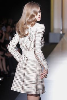 Versace guests: Versace: Runway - Paris Fashion Week Haute Couture F/W 2013