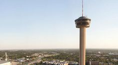 Take in the view at the Tower of the Americas!