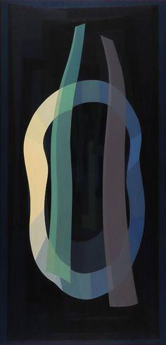 Emilio Pettoruti (Argentinean, 1892-1971) - Summer Night (1956)