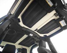 This acoustic sound deadener hardtop insulation kit from Rugged Ridge fits 11-12 Jeep 4-door JK Wranglers.