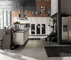 industrial style cucina