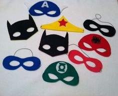 Super Hero Mask by whimsicaldreams3 on Etsy, $4.00