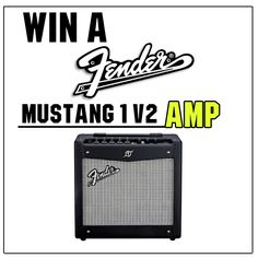 Who wants to #WIN a @fender Mustang 1 V2 Amp.  Head over to our facebook page to find out how you can enter our #COMPETITION to win a new amp. Follow the link below...  https://www.facebook.com/guitarbitz/photos/a.10150361723123946.354731.110577068945/10152373076948946/?type=1&theater  GOOD LUCK!