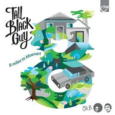 Listened to The Dark Streets by Tall Black Guy from the album: 8...