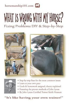 What Is Wrong with My Horse? (Horse Training How-To) by Keith Hosman. $10.65. Author: Keith Hosman. 157 pages