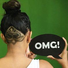 OMG! Undercut Thanks @mrs_bigbite #UCFeed #BuzzCutFeed #Undercut #Undercuts…