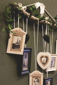 "Rustic Wedding Decor ""We know you would be here today, if Heaven wasn't so far away!"""