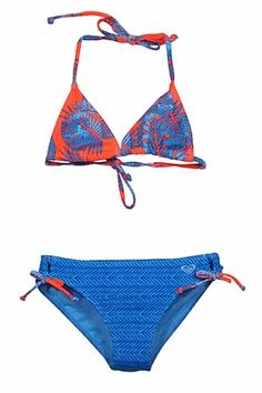 Hit the beach with your favorite little gal with a new swimsuit from The Best Dressed Child! Shop girls size swimwear now! Swimsuit Edition, Bikini Swimsuit, Triangle Bikini, Swimsuits, Swimwear, Girls Shopping, Palms, Blue Orange, Roxy