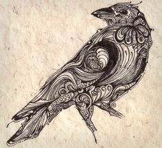 Example of the style, not sure about the bird. Like Cody's bear!