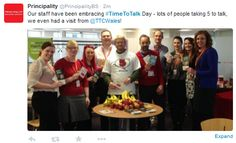 Principality supporting Time to Talk